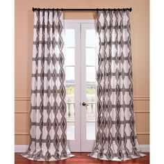 Our Printed Cotton Curtains and Drapes provide a casual feel to any window. Choose from a wide range of patterns to suit any decorative style. These drapes and curtains are tailored from the finest 100-percent cotton.