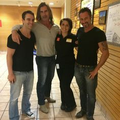 One thing that's great about my job is the people I get to meet...Like Fabio Lanzoni!!! #fabiolanzoni #romancenovels #icantbelieveitsnotbutter #Dennys #work #waitress #happy #exciting #awesome #lovelife