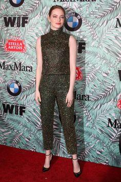 Jeżeli Emma Stone TAK wygląda na imprezie przed Oscarami. Emma Stone, Random, Beauty, Dresses, Style, Fashion, Vestidos, Swag, Moda