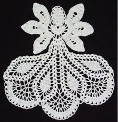 Inspirational Angel Doily Crochet Pattern