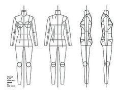 FASHION FLATS TEMPLATES Female Flat Drawings, Flat Sketches, Technical Drawings, Fashion Sketch Template, Fashion Templates, Fashion Sketchbook, Fashion Sketches, Fashion Drawings, Fashion Illustrations