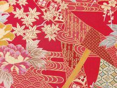 Japanese Patterns, Japanese Design, Japanese Paper, Japanese Fabric, Art Test, Kimono Design, Kimono Pattern, Asian Art, Vintage Designs