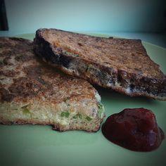 Savoury French toast - www.lovegreencity.com