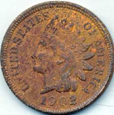 1902 Indian Head Penny FREE S (ih97)