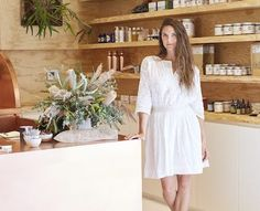 Moon Juice's founder Amanda Chantal Bacon balances running a company and being a single mom with eating healthy and finding time for self-care.