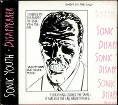 "Capas de Culto: sonic youth ""disappearer"" single 1990"