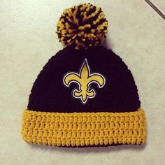 55f43ee7bca NFL Beanie Hat with trim and Pom Pom Photo Prop for any football team of