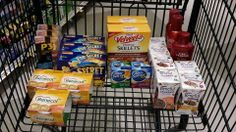 Harris Teeter Super Doubles Trip #1 3/26/14  Total Before Coupons/Discounts $74.95 Total After Coupons/Discounts $1.04 + .98 tax  Everything pretty much was free with the overages from other items