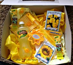 an affair from the heart: Brighten Someone's Day with a Box Full of Sunshine!!