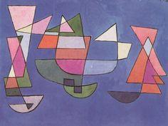 """Paul Klee, """"Sailing Boats"""", 1927"""