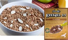This healthy cereal is a smart pick for your morning. Ezekiel Almond Sprouted Whole Grain Cereal packs a delicious taste, living grains, & organic almonds. Breakfast Cereal, Free Breakfast, Ezekiel Cereal, Healthy Cereal, Cereal Food, Vegan Fast Food, Whole Grain Cereals, Warm Food, Cereal Recipes