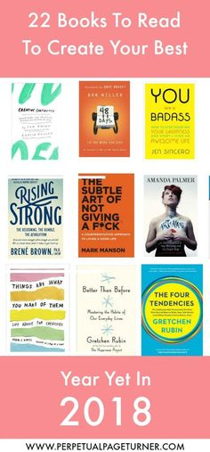 books to inspire new years resolutions
