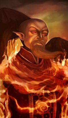 Master Neloth - Ancestor's Wrath by Dantiae