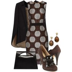 A fashion look from December 2014 featuring Vera Wang dresses, Joan & David pumps and J.W. Anderson handbags. Browse and shop related looks.