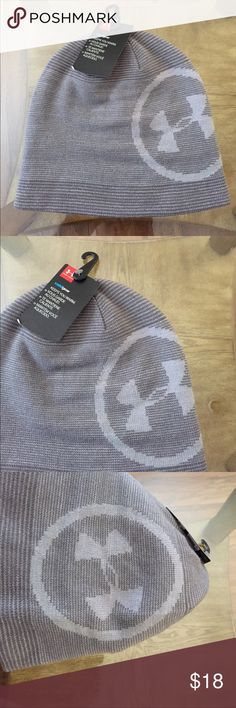 UNDER ARMOUR (OS) MENS CLASSIC BB BEANIE Brand New Under Armour Size:OS Men's Classic BB Beanie. Under Armour oversize logo. 95% acrylic, 4% nylon, 1% elastane. Machine wash cold, line dry. Under Armour Accessories Hats