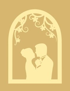 {Free Cut File} romantic window