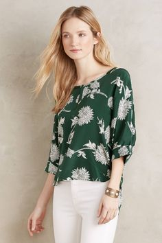 Lassen Silk Blouse - anthropologie.com