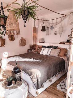 Bohemian Interior Design, Bohemian Bedroom Decor, Bohemian Style Bedrooms, Room Design Bedroom, Room Ideas Bedroom, Cozy Bedroom, Bed Room, Wholesale Home Decor, Deco Boheme