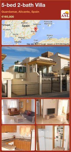 5-bed 2-bath Villa in Guardamar, Alicante, Spain ►€165,000 #PropertyForSaleInSpain
