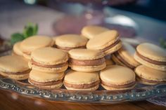 Organic Chocolate Malt French Macarons, Mimi's Cookie bar