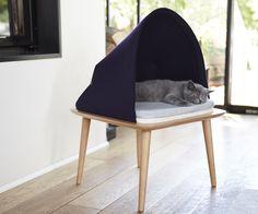 Er bestaan mooie items voor de katten welke zelfs iets kunnen toevoegen aan je interieur