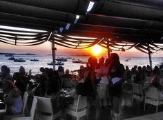 Sunset at Café Mambo Ibiza! Ibiza Trip, Ibiza Travel, Cafe Mambo, Ibiza Sunset, Ibiza Spain, Ibiza Fashion, Beach Bars, Great Love, San Antonio