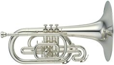 Thats right! I play the mellophone. Most people dont even know what it is. :-) It's basically a marching French Horn.