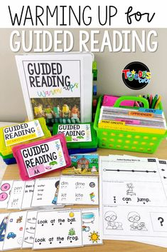 Guided Reading Warm-ups: An Organized Guided Reading Toolkit