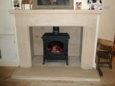 £1020 Stone Art Fireplaces - Home