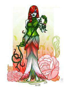 Sketch Dailies Poison Ivy by e-carpenter on DeviantArt