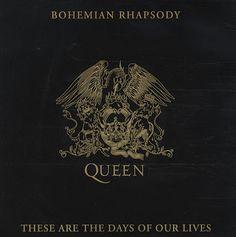 "Queen Bohemian Rhapsody   Queen Bohemian Rhapsody UK 7"" vinyl single (7"" record) (36507)"