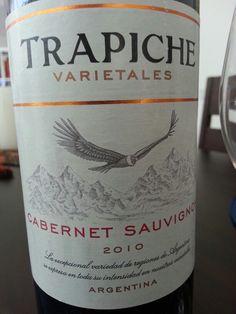 Lunes de Trapiche. Viva la Argentina! Más de vinos en mosaicoMX.com