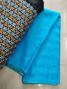 Fancy jute Georgette Sarees with blouse - Elegant Fashion Wear Elegant Fashion Wear, Trendy Fashion, Georgette Sarees, Silk Sarees, Plain Saree With Heavy Blouse, Saree Trends, Jute, Blouse Designs, Cool Style