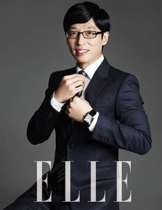 Yoo Jae Suk. One of my most favorite TV personalities!