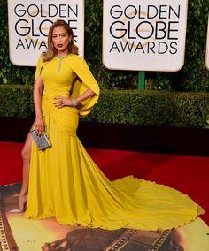 #Jenniferlopez Golden Globe Awards Jan 10 2016 wearing #judithleiber Couture Clutch. from @jenniferlopezstyle's closet #judithleibercouture