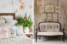 GORGEOUS. but crazy EXPENSIVE - intricately embroidered fabrics Coral and Tusk narrative, yardage, Remodelista