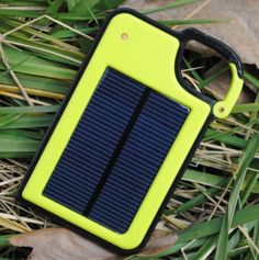 "For when you need a little help with your cell phone - solar panel Waterproof Portable USB Battery Charger for Cell Phone - Clip-on Power Bank ""If only there was some kind of infinite power source for free""  Enjoy Free shipping on Us.    Please allow 3-4 weeks for Delivery"