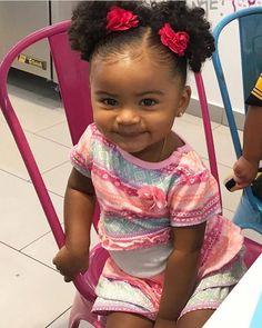 black kids Black Baby Girls, Cute Black Babies, Beautiful Black Babies, Cute Little Baby, Pretty Baby, Black Kids, Cute Baby Girl, Beautiful Children, Cute Babies