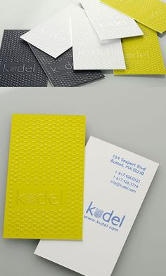 Kudel Business Card | Business Cards | The Design Inspiration