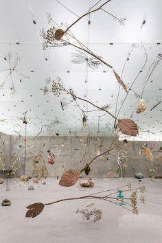 Vista de la exposición en la tercera planta del Kunsthaus Bregenz. Peter Zumthor. Dear to Me, 2017. Fotografía por Markus Tretter. Cortesía de Atelier Peter Zumthor & Partner. © Peter Zumthor, Kunsthaus Bregenz
