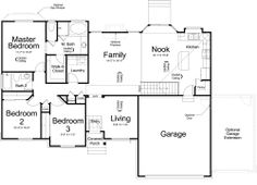 Mapleton Ivory Homes Floor Plan - Main Level