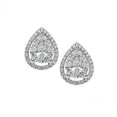 ORB 722 Oro 750 ‰ . Diamanti P.Ct. 75 Col. G Purezza SI #CometeGioielli   Gioielli Sposa Collezione Lumiere