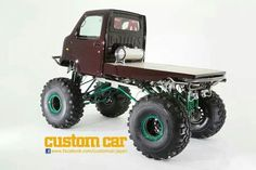 Rc Cars And Trucks, Mini Trucks, Custom Trucks, Cool Trucks, Pickup Trucks, Mini 4x4, Low Poly Car, Jeep Camping, Jeep Pickup