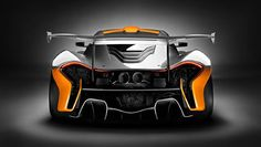 Be afraid: it's the McLaren P1 GTR
