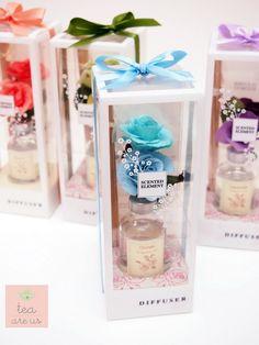 The Fragrance Diffuser ก้านไม้หอมปรับอากาศ ของชำร่วย ของขวัญ เพื่อนเจ้าสาว จาก Hom Herbal Tea | sodazzling.com