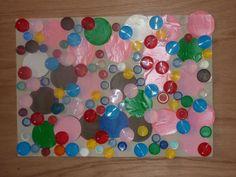 bouchons + cercles colorés