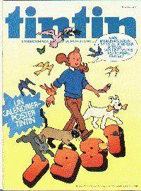 Journal de TINTIN édition Belge N° 1 du 6 Janvier 1981