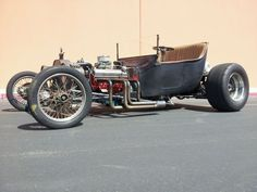 1915 T Bucket Hot Rod Built in the 1960s