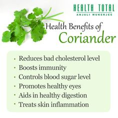 Image result for goodness of coriander leaves