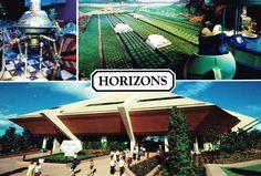 Horizons, Future World, Epcot, Orlando, Florida postcard
